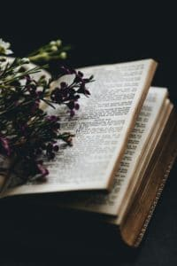an open Christian Bible