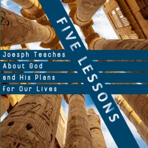 Ancient Egyptian Pillars with Sermon title