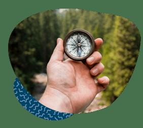 compass direction Field Partner International