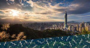 view of Taipei, Taiwan